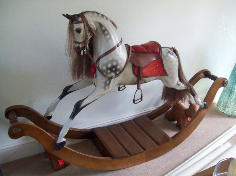 stevenson bow rocking horse