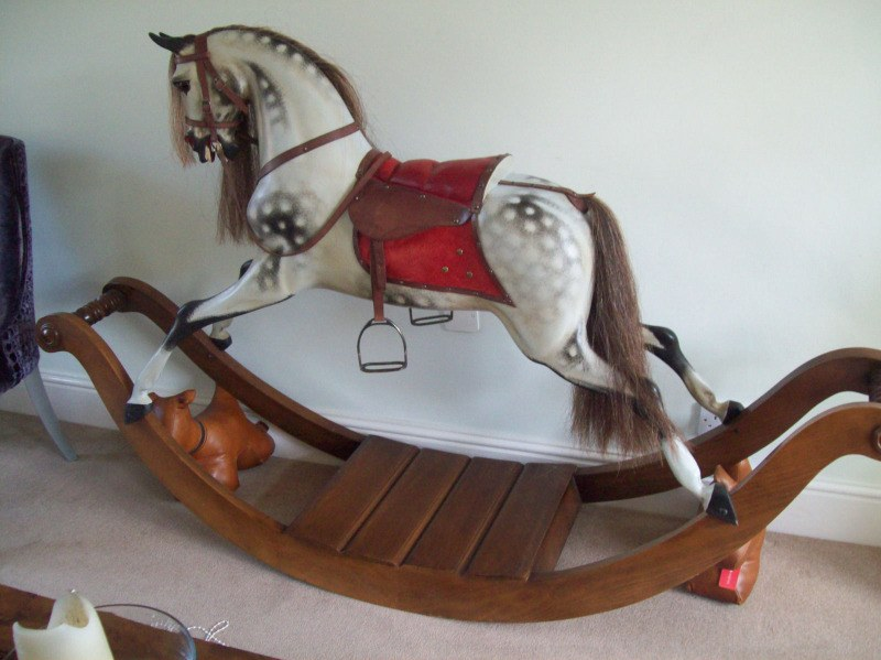 stevenson bow rocking horse2