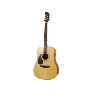 Brunswick dreadnaught acoustic guitar left handed