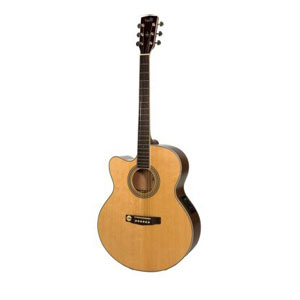 Cort Super Jumbo Electro Acoustic Guitar with Fishman EQ