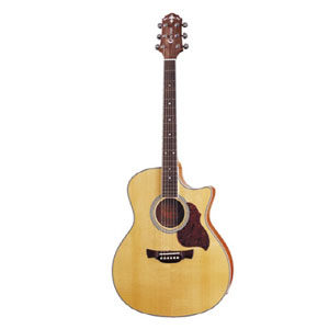 Crafter Electroacoustic Guitar GAE6 Natural