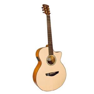 Faith Venus Hi Gloss EQ cutaway Acoustic Guitar (All solid with case) EX DEMO