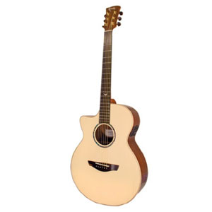 Faith Venus Hi Gloss Finish Electro Acoustic Left Handed Guitar EX DEMO