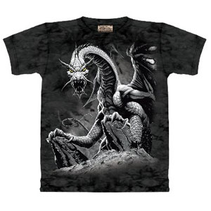 Black Dragon T-shirt (childrens)