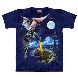 Dragon Fire T-shirt (childrens)