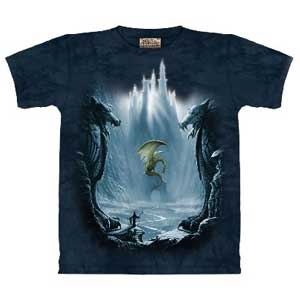 Lost Valley of the Dragons T-shirt Adult