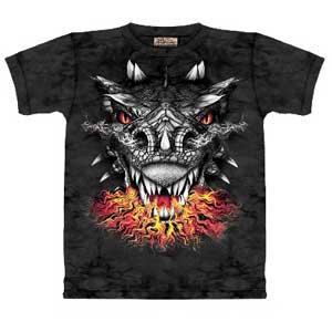 Fire eyes dragon T-shirt Childrens