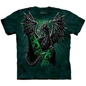 Electric Dragon T-shirt Adult