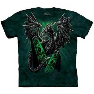 Electric Dragon T-shirt Adult