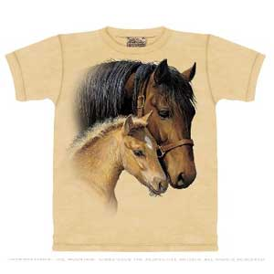 Gentle Touch Horse T-shirt Adult