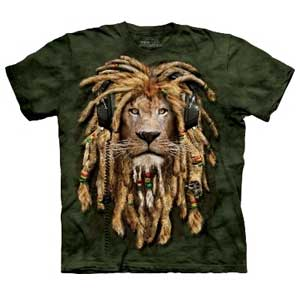 DJ Jahman Lion T-shirt Adult