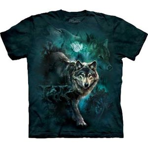 Night Wolves T-shirt Adult