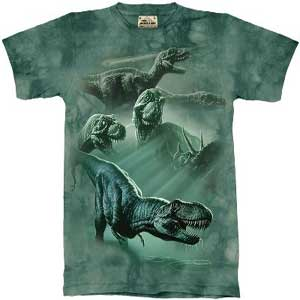 Dinosaur Collage T-shirt Childrens