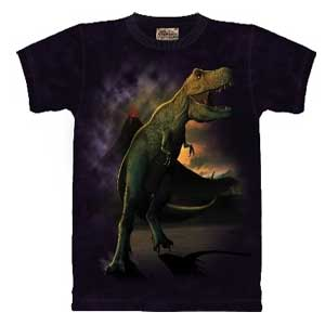 T-Rex Dinosaur T-shirt Childrens