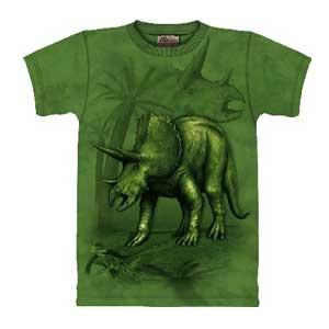 Triceratops Dinosaur T-shirt Childrens