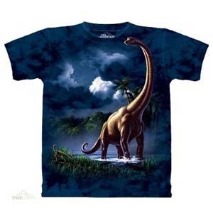 Brachiosaurus Dinosaur T-shirt Adult
