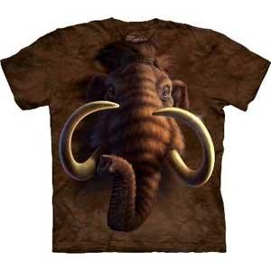 Mammoth Head T-shirt Adult