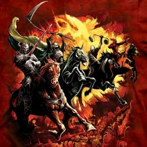 Four Horsemen of Apocalypse T-shirt Adult