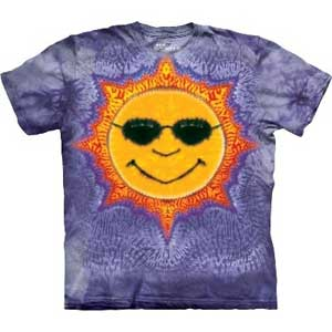 Sun Tie Dye T-shirt Childrens