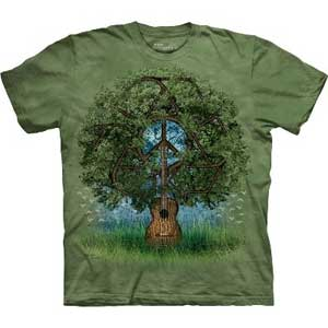 Guitar Tree T-shirt Adult