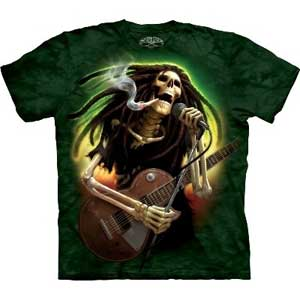 Dead Dread Guitar T-shirt Adult