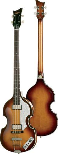 Hofner HCT Violin Bass Black  HCT5001BK
