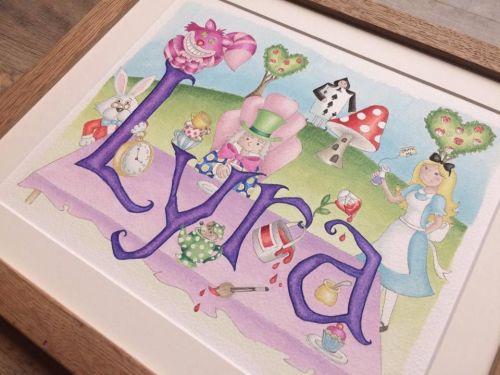Alice watercolour