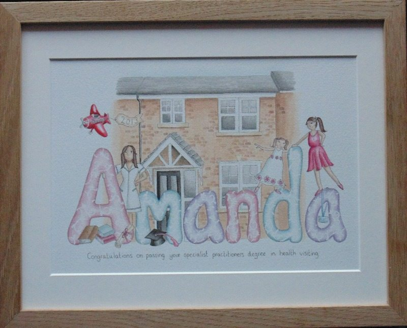 amanda home and girls