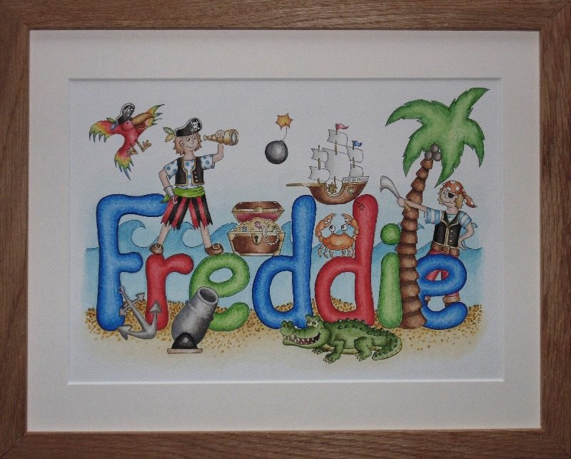 freddie - pirate