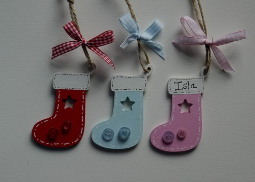 Stocking tree decoration