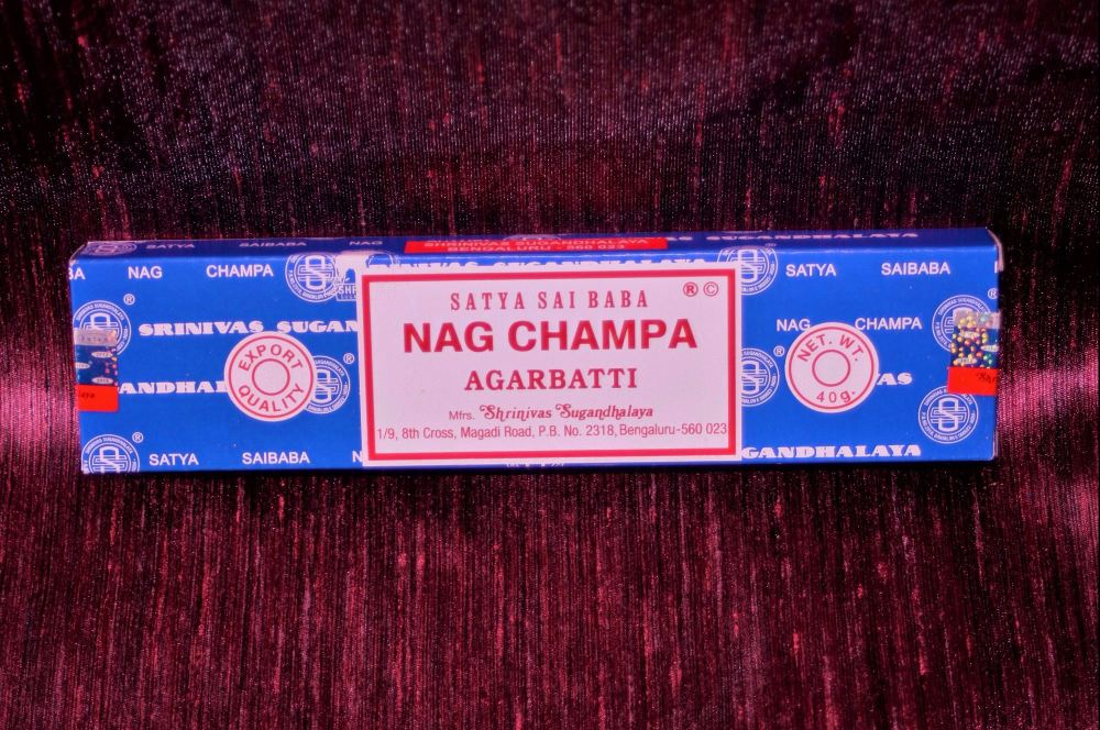 New ProductBox of Nag Champa Incense sticks