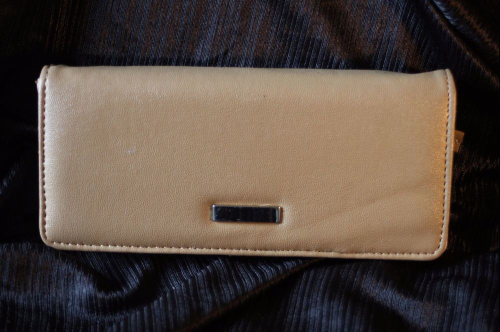 Light Brown Multi-compartment purse