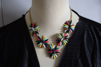 Statement Flower Necklace