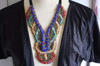 Bohemian Beaded Collarette