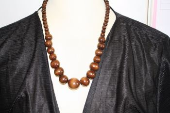 Chunky Wooden African Beads