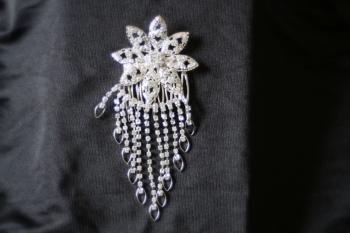 Diamante Sparkling Hair Comb