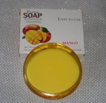 MANGO FRAGRANCE PAPER SOAP