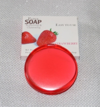 STRAWBERRY FRAGRANCE PAPER SOAP