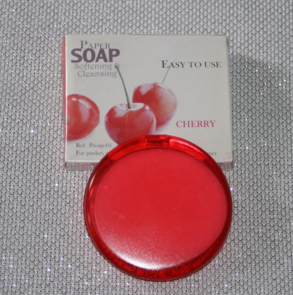 CHERRY FRAGRANCE PAPER SOAP