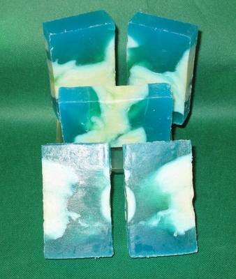 Coconut Oil, Palm Oil and Olive Oil Soap - ROSEMARY