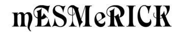 Mesmerick Handmade Luxury, site logo.
