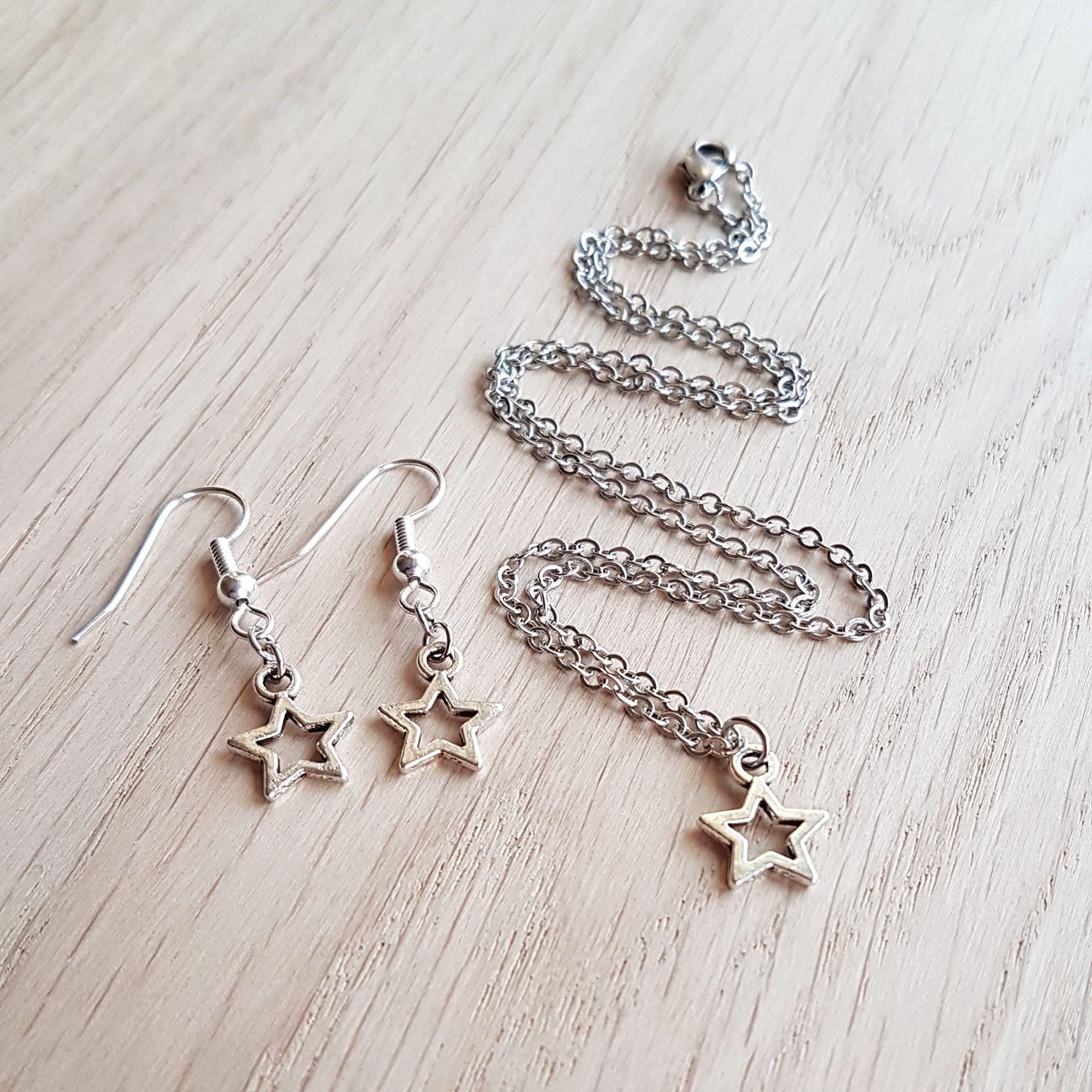Silver Star Matching Set