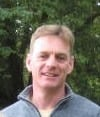 Innes Hogg, partner in Craigiehall Nursery, alpine plant grower.