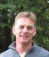 Innes Hogg, partner in Craigiehall Nursery, alpine plant grower.