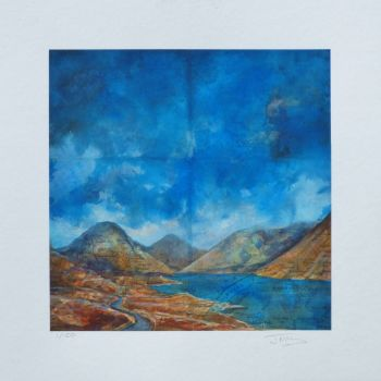 """""""WAST WATER"""" Limited Edition Giclee Print"""