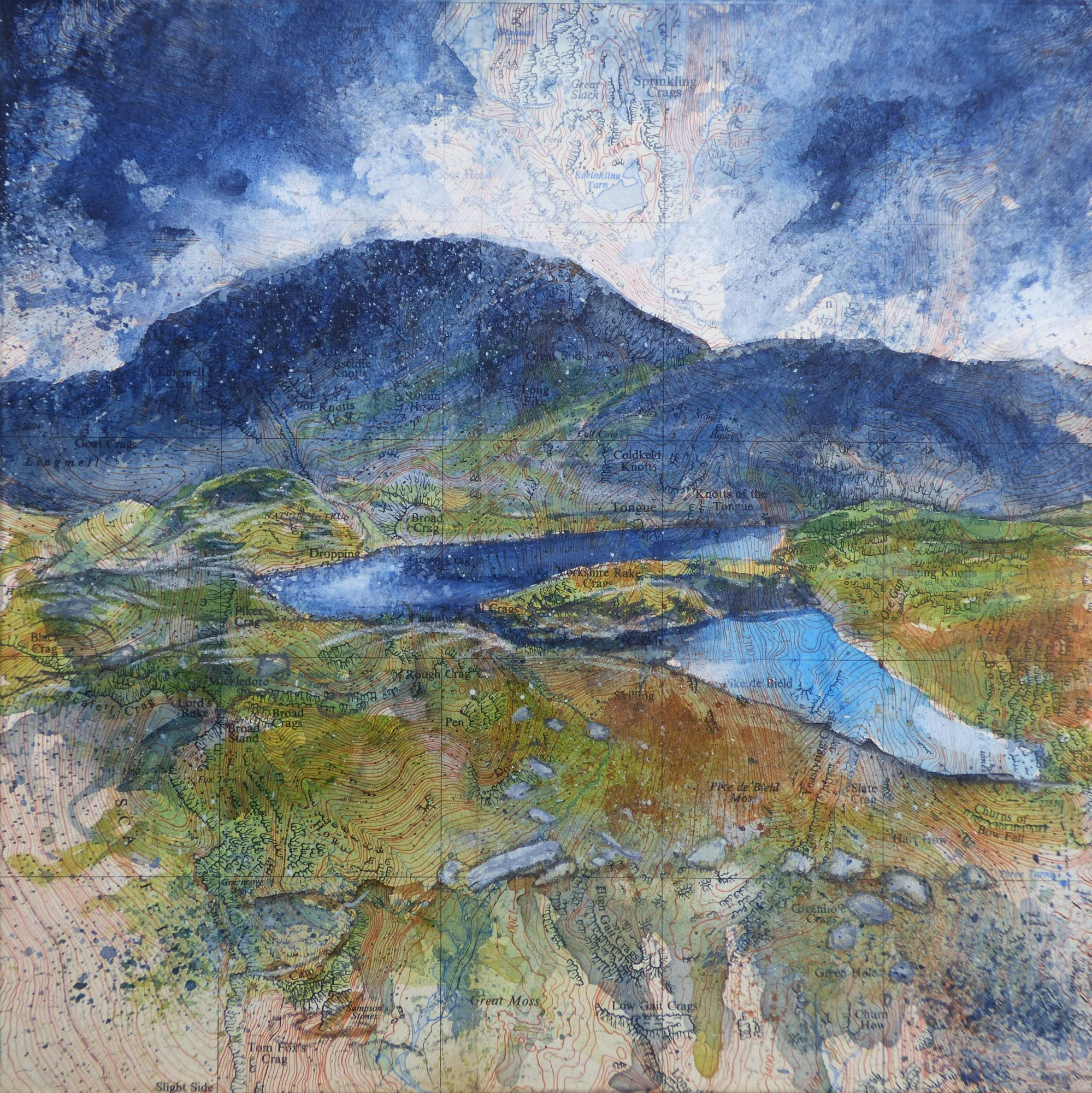 Sprinkling Tarn painting