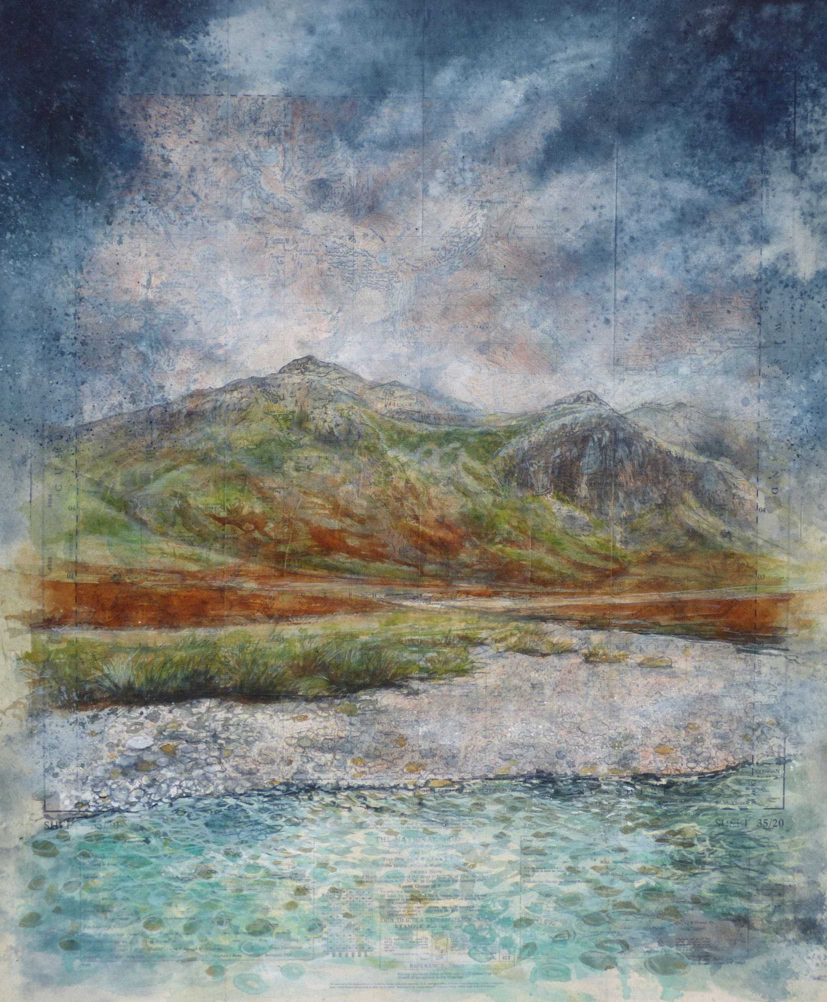 Scafell painting, Great Moss