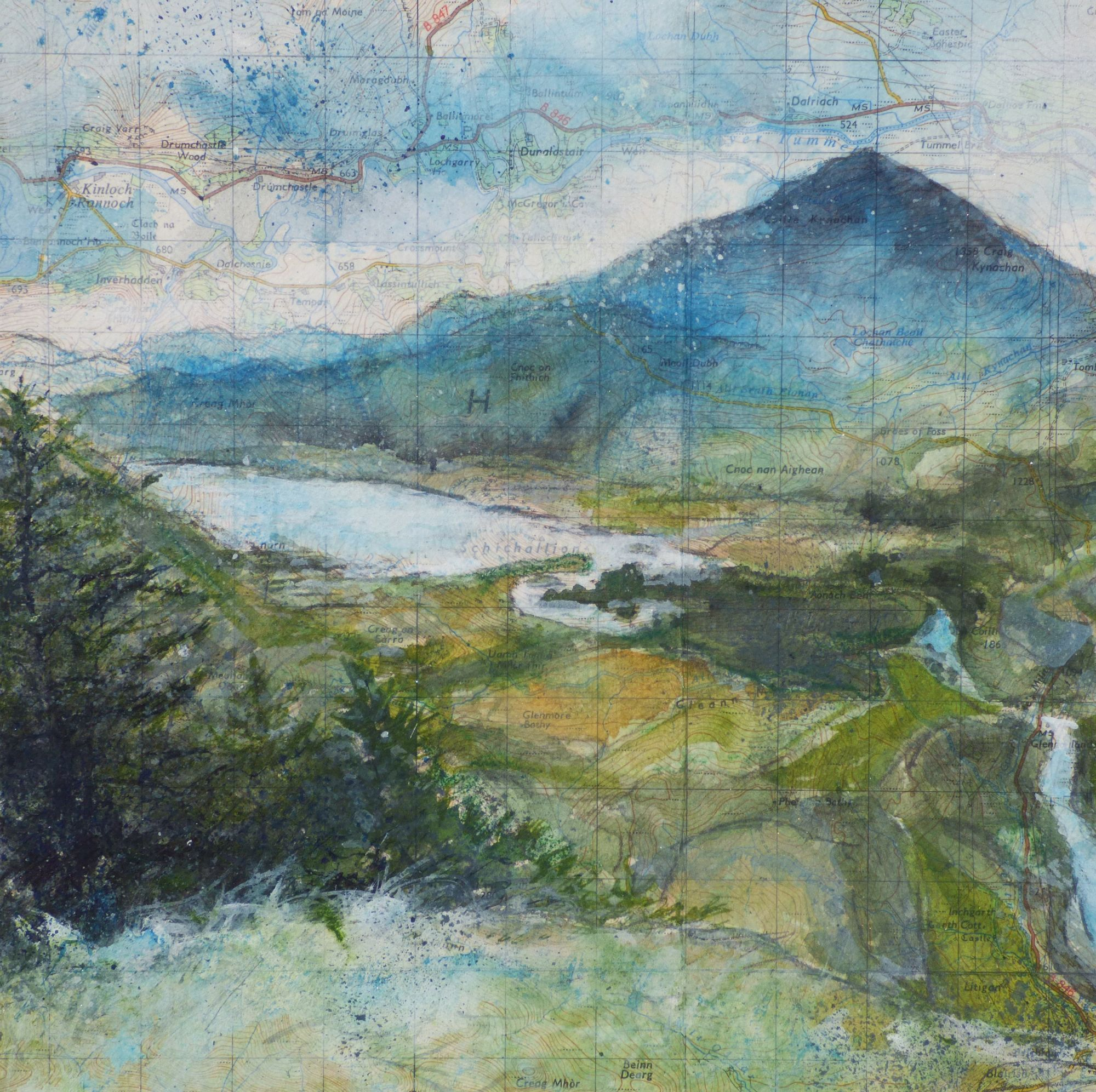 Schiehallion  painting