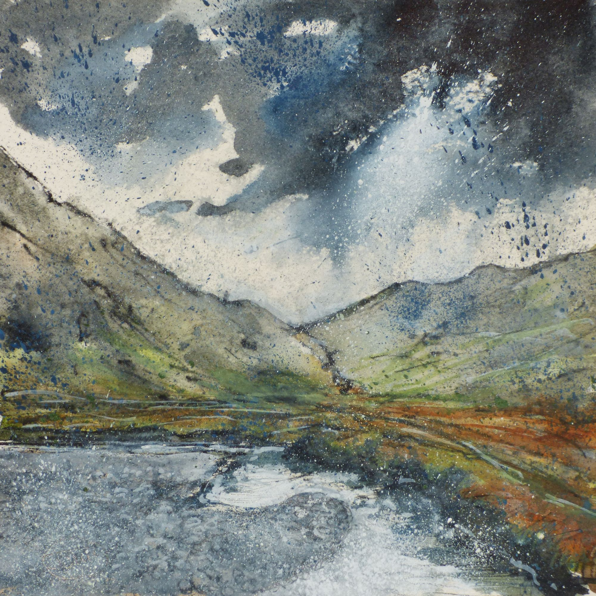 Bend in the river, Grat Moss £140