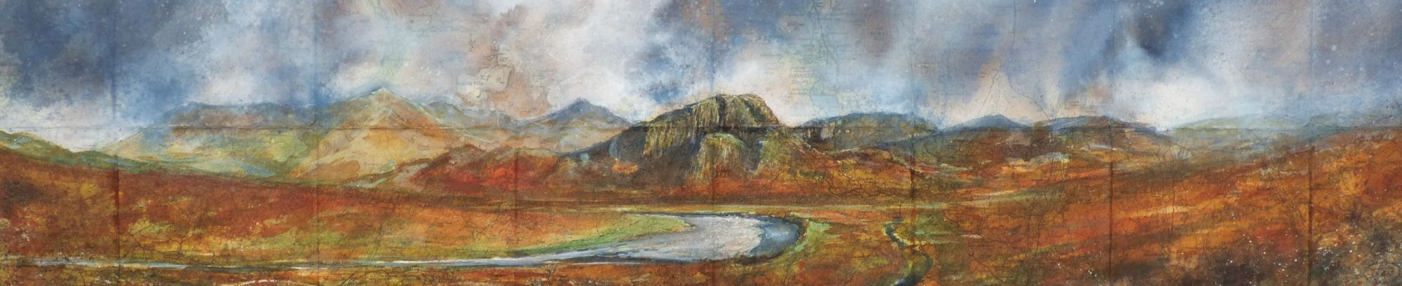 Autumn morning on Great Moss £1100